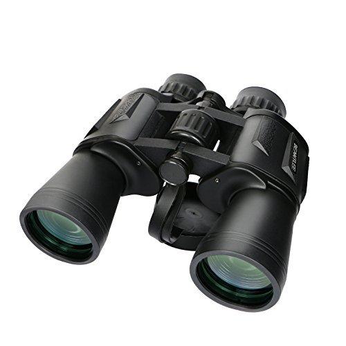 Beantlee 10x50 Sports Military Optics Binoculars Waterproof High Power HD Compact Professional Binocular For Hunting Hiking Travel