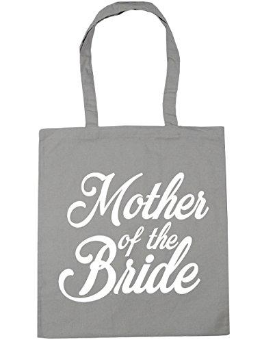 litres Grey HippoWarehouse Tote 42cm 10 x38cm Bag Light of Shopping Mother Beach Gym the Bride p6fpR