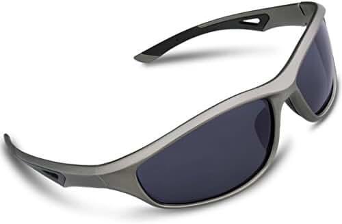 RIVBOS Polarized Sports Sunglasses Driving Glasses for Men Women Tr90 Frame for Cycling Baseball Running 842