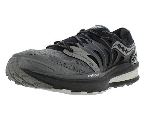Saucony Women's Hurricane ISO 2 Refl Running Shoe, Grey/White, 11 M US