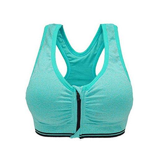 LAAT 1PC Women's Sports Bra High Impact Yoga Back Support Push Underwire...
