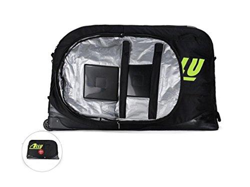 Nola Sang Road Bike Transportation Bag Travel Case Wheel Transport Luggage Carrier Cycle Lounge Bag 600D Nylon by Nola Sang (Image #2)