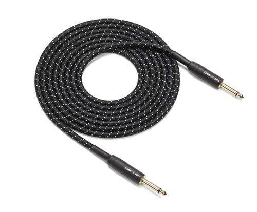 Samson Tourtek Pro TPIW Woven Fabric Instrument Cable, 10 ft ()