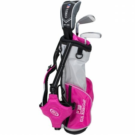US Kids Golf Ultralight Series Set 39 Rosa Edition, 96 cm ...