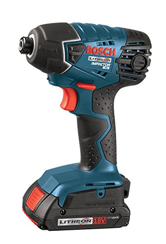 bosch clpk232 181 18v 2 tool combo kit drill driver impact driver with 2 2 0 ah batteries. Black Bedroom Furniture Sets. Home Design Ideas