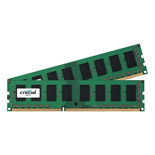 Crucial Technology SDRAM 2 DDR3 1600 (PC3 12800) CT2K25664BA160BA