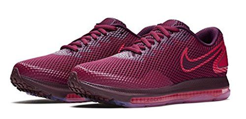 Scarpe Zoom W Rush 2 NIKE Running Donna out Low Maroon Multicolore 600 all aZWwq4