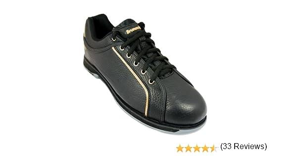 Brunswick Zapatillas de Bolera para Hombre Charger Black//Oro