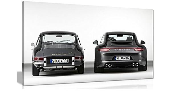 Porsche 911 evolución lienzo pared Art imagen impresión, A3 46x31 cm (18x12in): Amazon.es: Juguetes y juegos