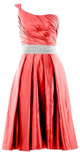 MACloth -  Vestito  - linea ad a - Senza maniche  - Donna rosso 40