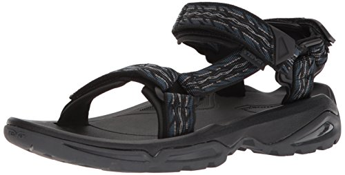 (Teva Men's M Terra FI 4 Sport Sandal, Firetread Midnight, 09 M US)