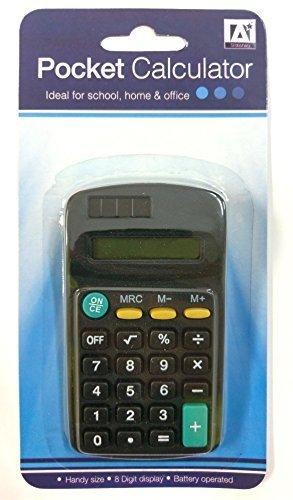 Anker International Stationary Taschenrechner, Schwarz CAL/6