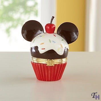 Disney's Mickey Cupcake Treasure Box by Lenox