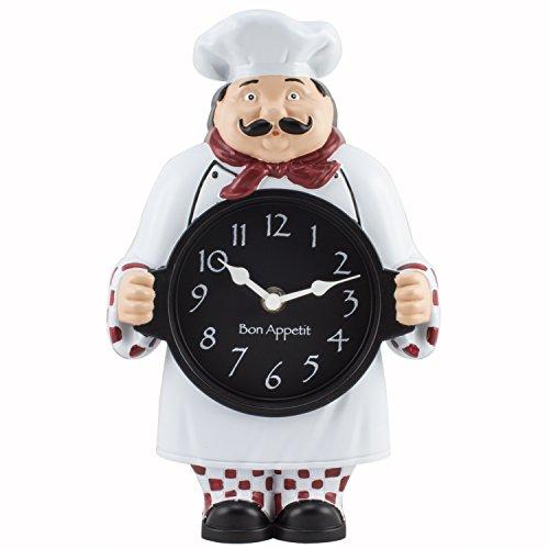 La Crosse Technology 1520G Chef Clock White