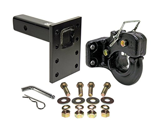 Rigid Hitch 10 Ton Pintle Hook, Mounting Plate and Hardware
