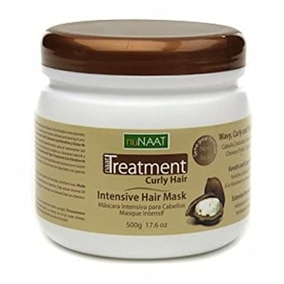 Nunaat Treatment Curly Hair Intensive Hair Mask, 17.6 Ounce