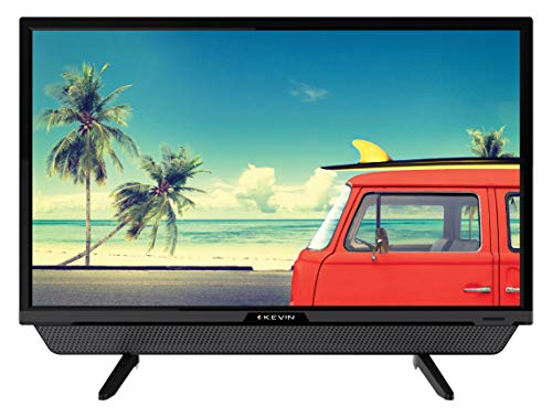 Kevin 60 cm (24 Inches) HD Ready LED TV KN24832 (Black) | With Inbuilt Soundbar