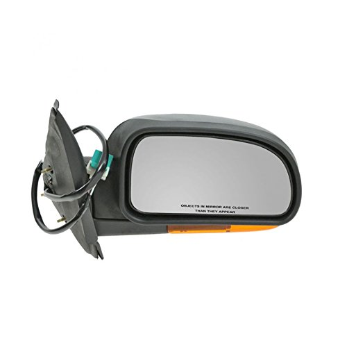 - Power Heated Side View Mirror w/Amber Signal Passenger Right RH for Chevy GMC