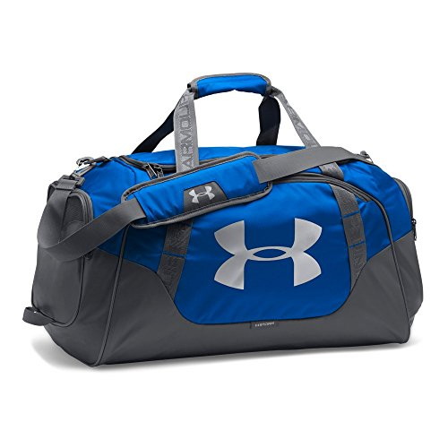 - Under Armour Undeniable Duffle 3.0 Gym Bag, Royal (400)/Silver,