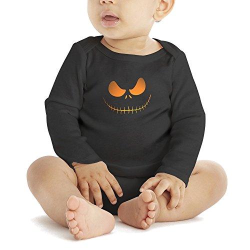 SHUOCDAH Scary Pumpkin Eyes Happy Halloween Night Baby Girls Cute Newborn Clothes ()