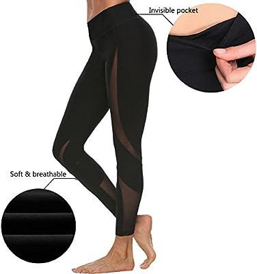 Amazon.com: Niñas pantalones running deportivas Mujer ...
