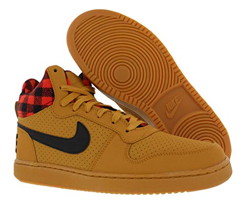 Grey Borough Mid Da Uomo Basket Court heather Scarpe Nike BZ0q5gpwB