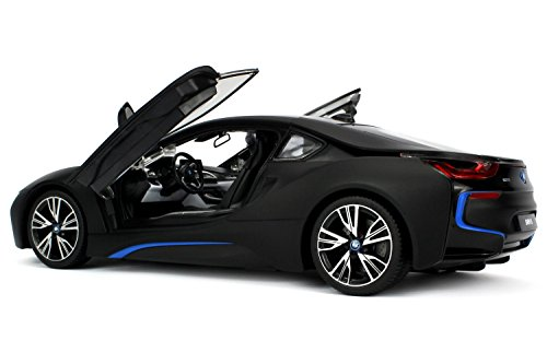 officially-licensed-bmw-i8-authentic-w-open-doors-rc-vehicles-scale-114-by-rastar-black