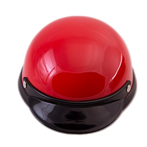 Picture of Helmet for Dogs, Cats and All Small Pets, Pet Accessory - Red for small dogs 5-10 lbs.