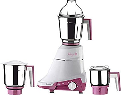 Preethi Daisy Mg 201 750 Watt Mixer Grinder White Purple