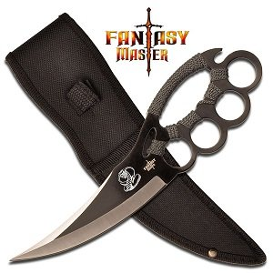 Fantasy Master FM-617G Fixed Blade Knife 10-Inch Overall, Outdoor Stuffs