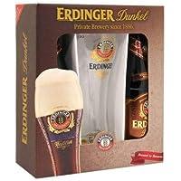 Erdinger Dunkel Pack 2 botellas 500ml + vaso