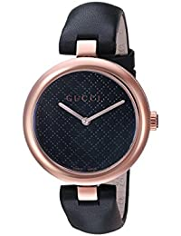 Diamantissima Analog Display Swiss Quartz Black Women's Watch(Model:YA141401)