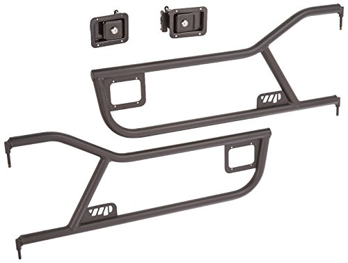 72 Tube Doors with Paddle Handle for Jeep TJ 97-06 (Warrior Products Tube Door)