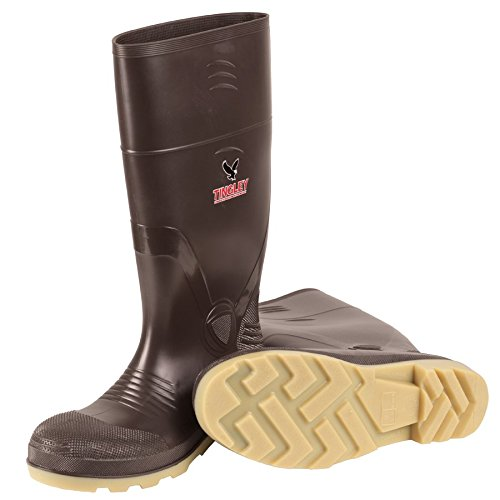 Tingley Rubber 51244 15-Inch Steel Toe Cleated Knee Boot,...