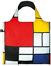 LOQI Composition Reusable Shopping Bag