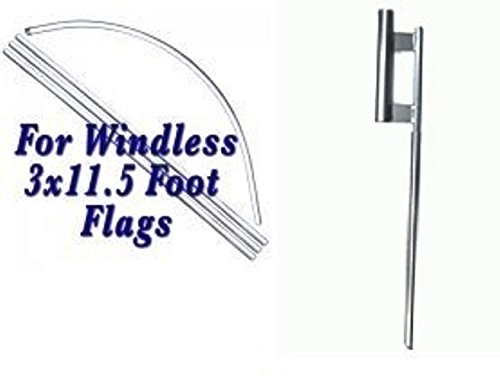 2 Swooper Feather Flag Kits Auto Glass Two