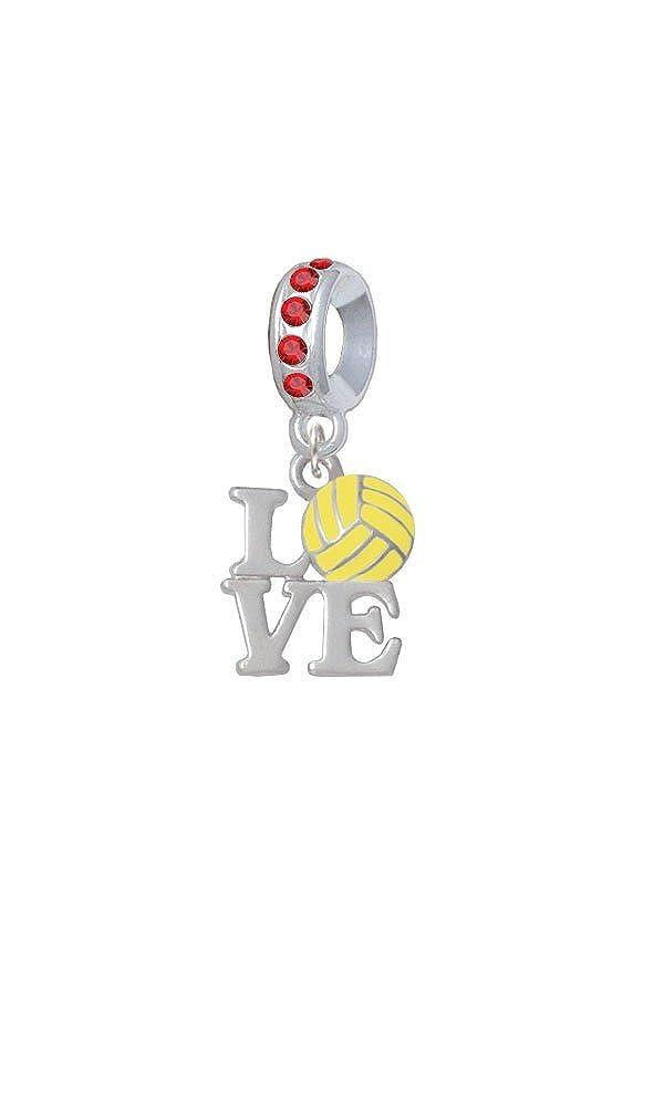 Amazon.com: Silvertone Love with Water Polo Ball - Black ...