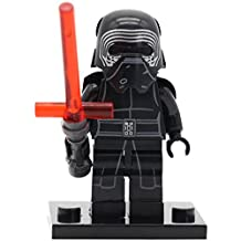 Kylo Ren minifigure with light saber from Star Wars: The Force Awakens (XINH 144) by XINH