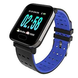 TEN-G A6 Color Screen Smart Wristband 1.3 Inch Touch Large ...