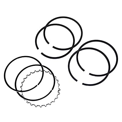 EMPI 98-1169-B VW Air Cooled GRANT PISTON RING SET, 85.5mm, 2X2X5mm, With Cast Top Ring: Automotive