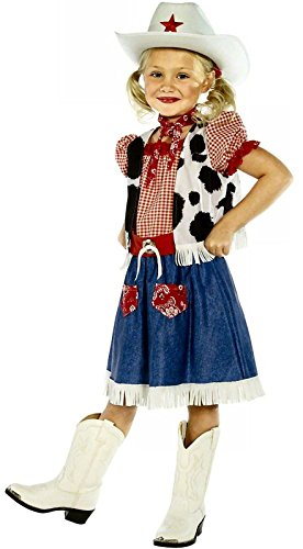 Boy Girls Wild West Cowboy Cowgirl Woody Jessie Book Fancy Dress Costume Age 7-9