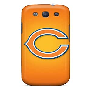 Durable Defender Case For Galaxy S3 Tpu Cover(chicago Bears)