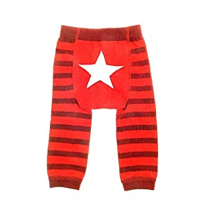 Ziggle Baby Knitted Leggings – Star (6-12m)