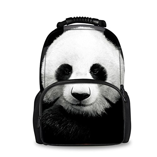 School Fashion Bags Animal Backpack Tiger panda Showudesigns Softback Head with xBqwXBd