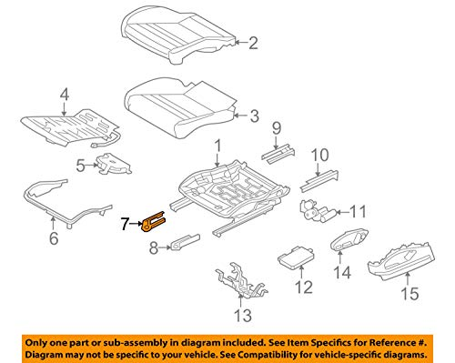 - Porsche OEM 10-16 Panamera Front Seat-Track Cover Right 970521360007N0