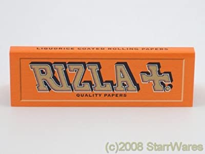 Rizla Liquorice Cigarette Rolling Papers - 20 Packets from Rizla