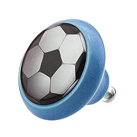 Ceramic Knob 03445B Soccer Football Team Sports World Furniture ...