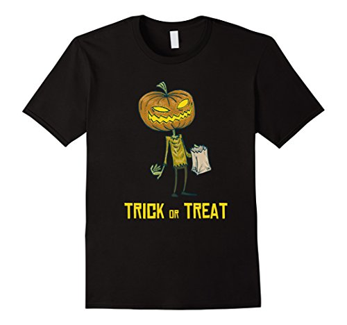 Mens Pumpkin Lantern - Cute Halloween costume T Shirt Medium (Cute Last Minute Halloween Costumes For Work)