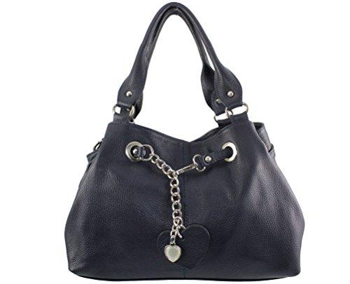 main julie cuir sac Italie chloly femme Bleu Coloris a cuir julie femme Plusieurs julie sac Julie Pétrol à sac main sac Sac WqBnHwpUH