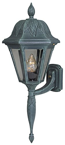 Special Lite Outdoor Lighting - Special Lite Products Floral F-2945-VG/BV Medium Bottom Mount Light, Verde Green